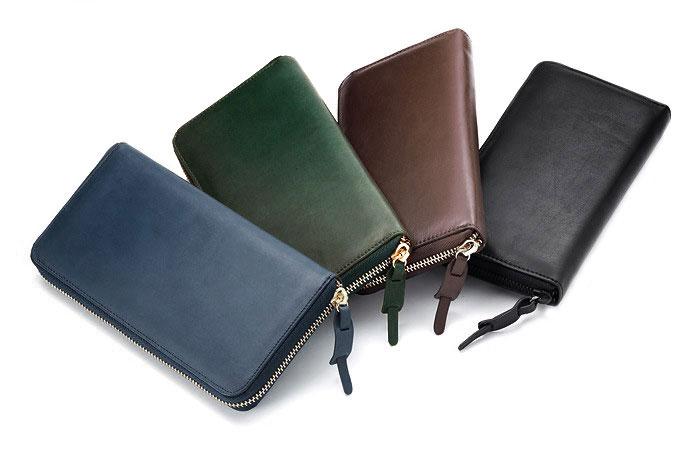 牛本革長財布のイメージ写真