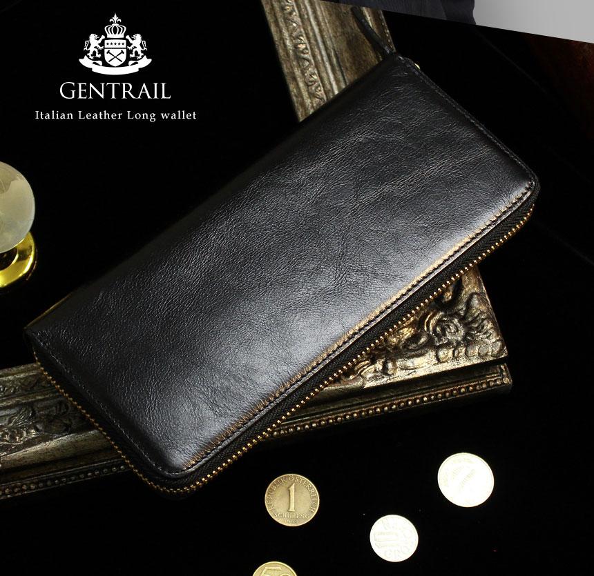 GENTRAIL(ジェントレイル)牛革多機能財布のイメージ写真